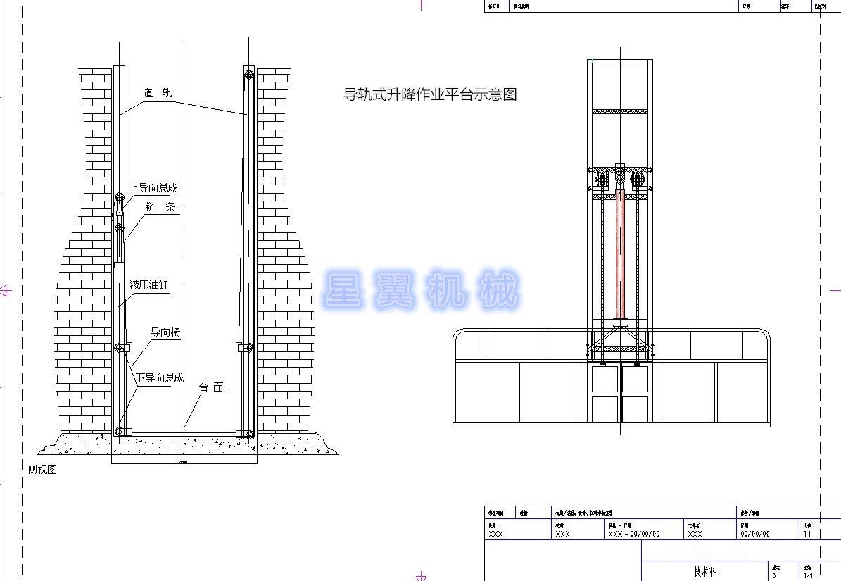 液压升降机工作原理图片